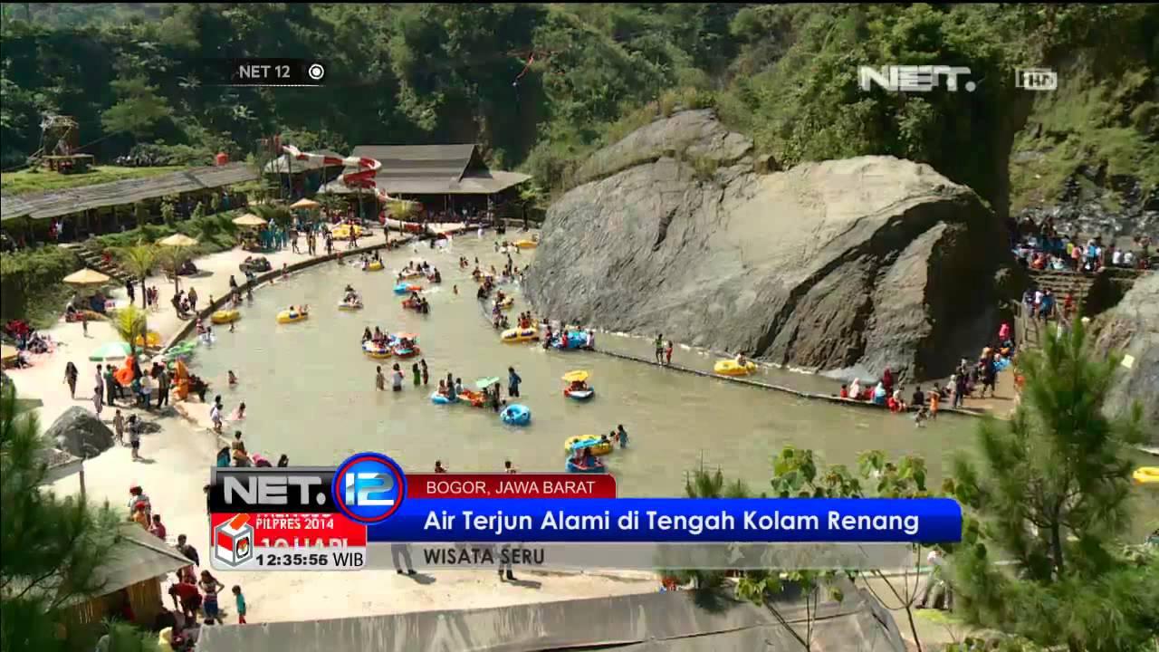 Wisata Air Seru Benuansa Alam di Bogor NET7