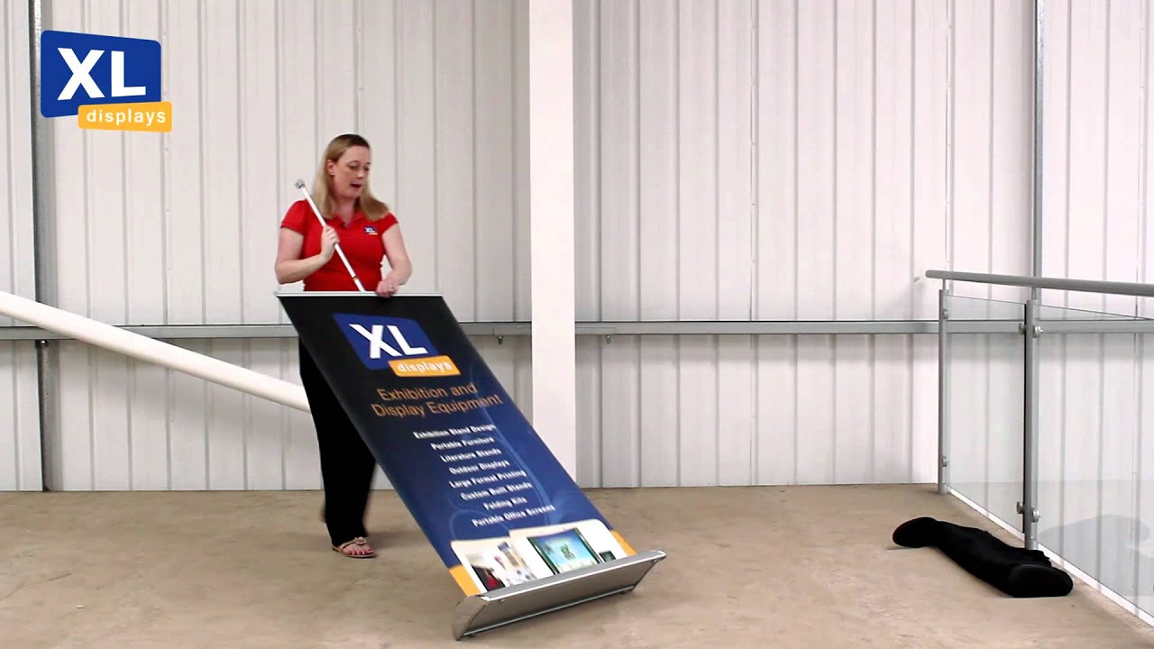 Roller Banners How To Put Up Your Pull Up Roller Banner