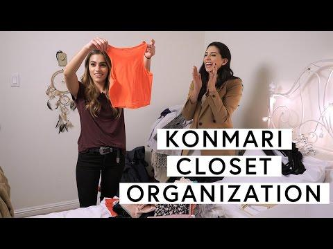 Organize Your Closet With The KonMari Method | The Zoe Report By Rachel Zoe