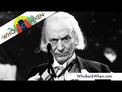 B018 The First Doctor - William Hartnell - Retrospective