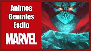 Top 7 Animes Qué Podrían Pertenecer a Marvel Comics