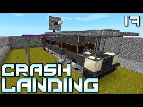 "Minecraft Crash Landing 17 - ""NOW It Feels Like HOME!!!"" (Modded Minecraft)"