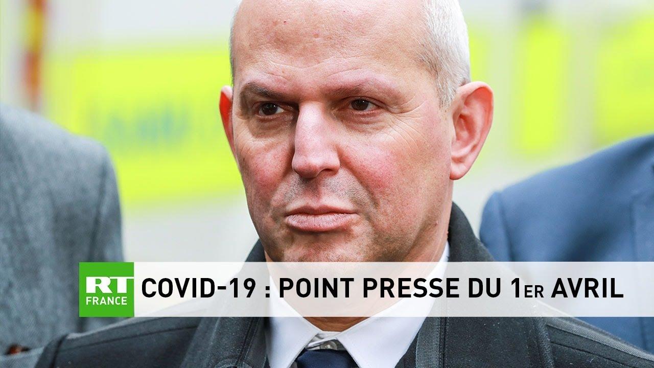 Covid-19 : Point presse du 1er avril