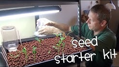 How to start a seed for an aquaponics system?