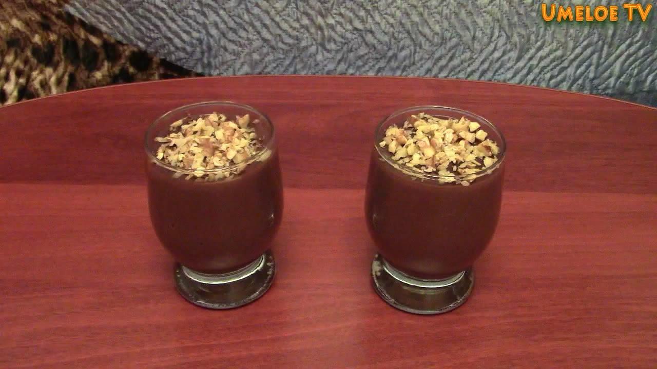 Как сделать пудинг шоколадный фото 517