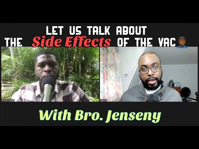 Let us talk about the Inoculation, the side effects and more, with Bro. Jenseny Augusta.