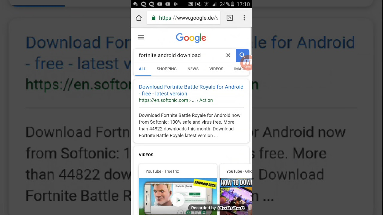 Fortnite mobile download apkhere android