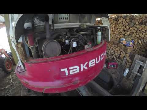 Takeuchi TB180FR Engine Starting Problem