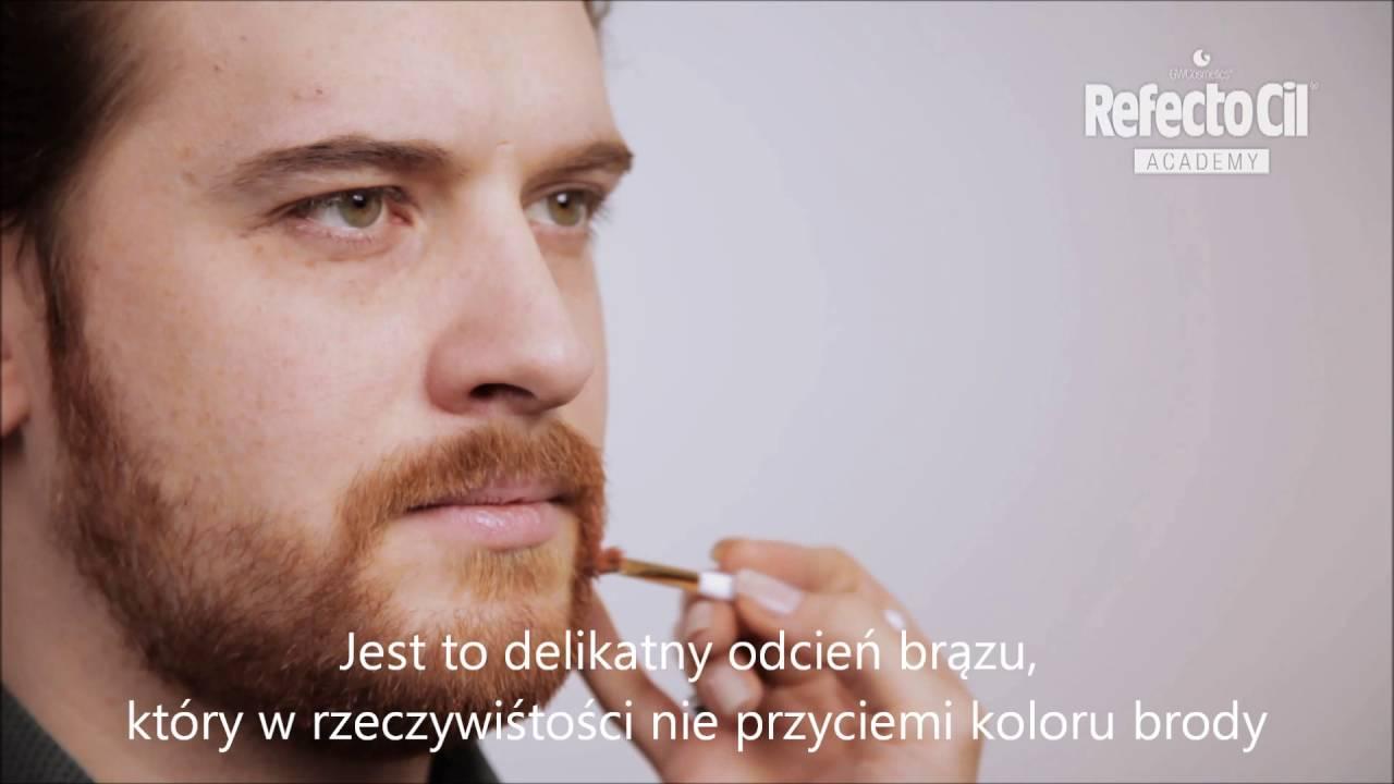 Refectocil Niwelowanie Rudawego Odcienia Brody Z Jasnym Brązem 31