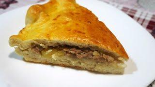 САМОИЗОЛЯЦИЯ Закончился хлеб Готовим пирог с мясом и картошкой