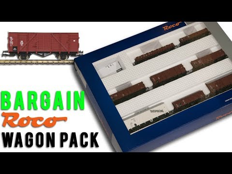 Bargain Roco Train Pack Unboxing & Review