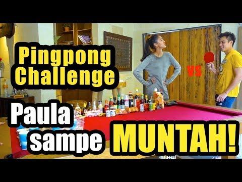 PAULA MUNTAH / PING PONG CHALLENGE