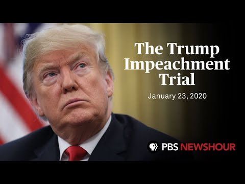 Watch Senate Impeachment Trial Of Donald Trump January 23 Youtube