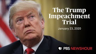 WATCH LIVE: Senate impeachment trial of Donald Trump | January 23