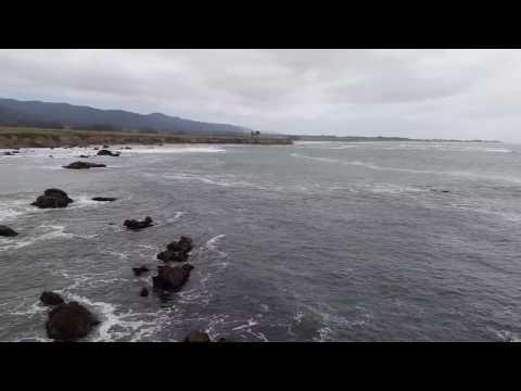 Pacific coastline close to Pescadero, CA, USA (2015.05)