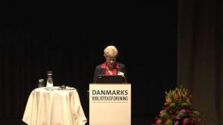Susanne Møller, medlem af Københavns Borgerrepræsentation, byder velkommen til København