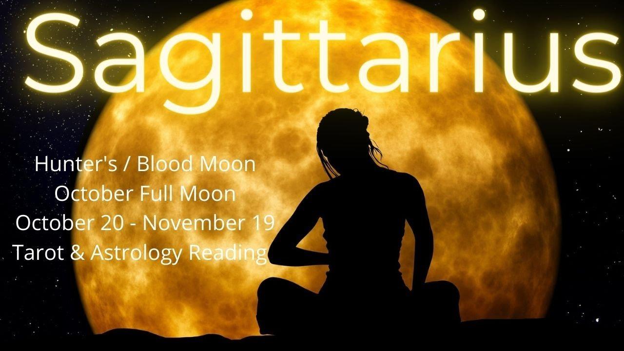 Download Sagittarius, Something Beautiful Is Coming // Oct Full Moon Tarot & Astrology Reading