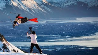 Sending it with Bobby Brown in Alaska. | Roots Lead to Water BTS