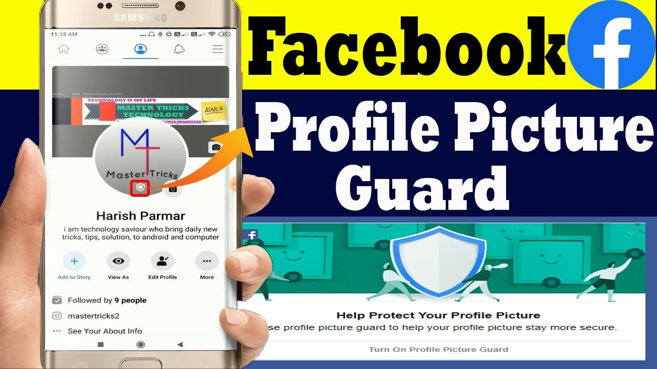 How to Use Facebook Profile Picture Guard   Facebook Profile Picture Guard Kaise Lagaye