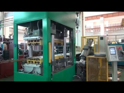RT560 Rubber Injection Moulding Machine Factory Trial