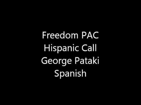 Freedom PAC - George Pataki Call Spanish