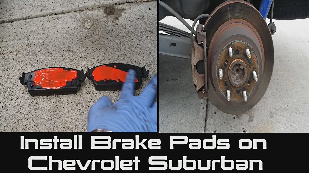 2007 Chevrolet Tahoe Ltz >> How to Install Brake Pads on Chevrolet Suburban | Tahoe | Rear Brake Job - YouTube