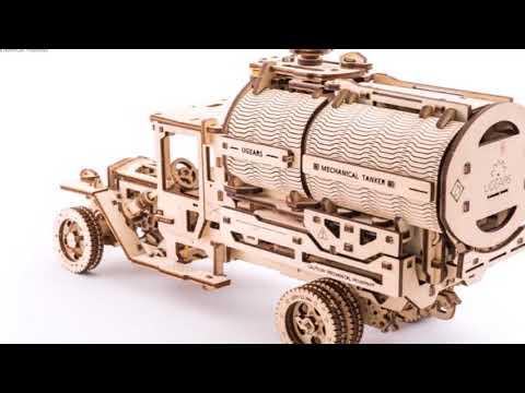 BREAKING NEWS !!! UGears Mechanical Model Kits