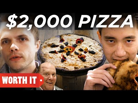 $2 Pizza Vs. $2,000 Pizza  New York City