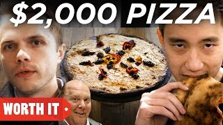 2 pizza vs 2 000 pizza new york city