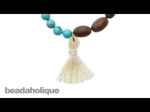 How To Make Tassels For Jewelry