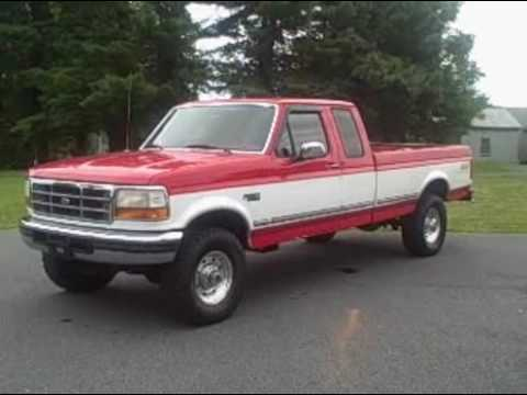 1997 ford f250 heavy duty ext cab xlt 4x4 youtube. Black Bedroom Furniture Sets. Home Design Ideas