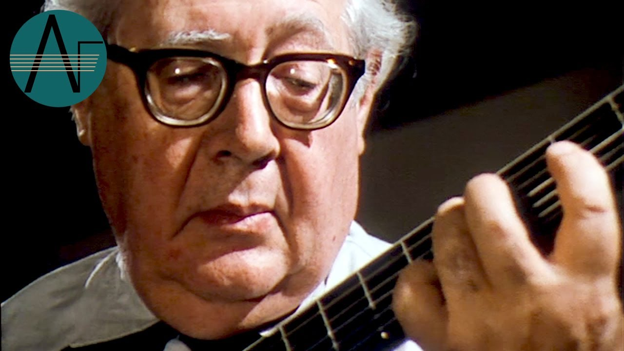 Andres Segovia Bach Gavotte From 4th Lute Suite For Guitar