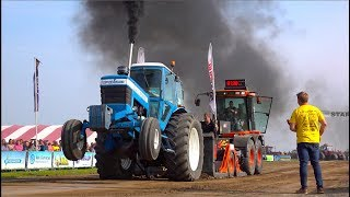 Agrisport klasse   Trekkertrek Dirksland 2019   Tractorpulling