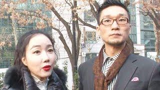 낸시랭, 왕진진의 사기 혐의 재판 함께 참여 '꽉 잡은 손' @본격연예 한밤 53회 20180116