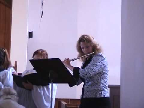 Stacey Guney French Flute at Alamo Heights Presbyt...