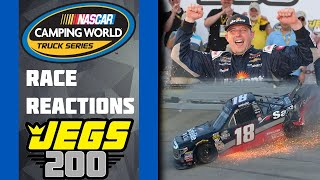 2018 NCWTS JEGS 200 Reactions