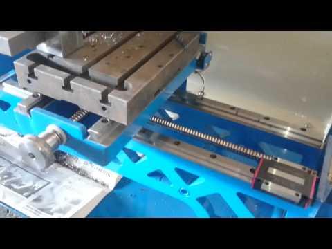 Mini cnc torna lathe demir işleme 2015