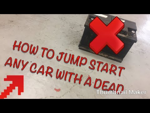 how to start your car with a dead battery