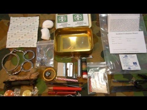 SAS Survival Kit-Tin Pocket Size Australian