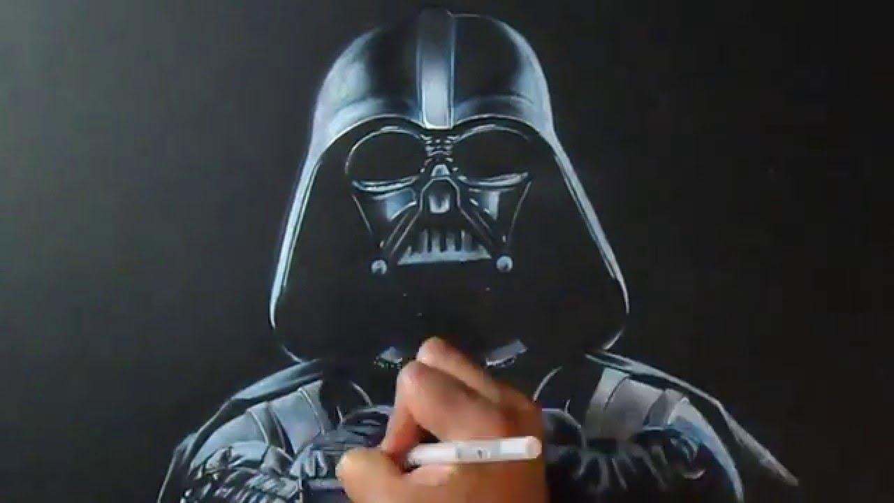 Desenhando Darth Vader Do Star Wars Guerra Nas Estrelas Youtube