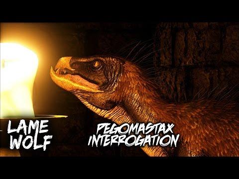 PEGOMASTAX INTERROGATION - A Lame Wolf Skit (ARK: Survival Evolved)