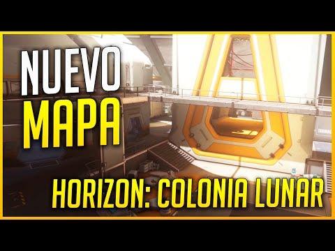 OVERWATCH: REACCIÓN AL NUEVO MAPA HORIZON: COLONIA LUNAR | Makina