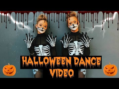 Ultimate HALLOWEEN DANCE! ACRO/ Contortion/ HIP HOP & BALLET!!!| The Rybka Twins
