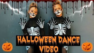 Ultimate HALLOWEEN DANCE ~ ACRO, Contortion, HIP HOP & BALLET!!!| The Rybka Twins