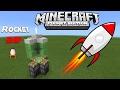 How To Make Rocket Ship - Minecraft PE