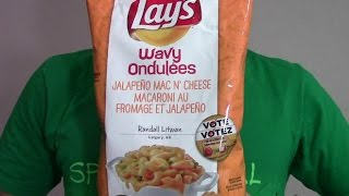"Lay's Jalapeño Mac N' Cheese Chips | ""do Us A Flavour"" Canada 2014"