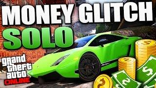 GTA 5 Money Glitch - *SOLO* Method