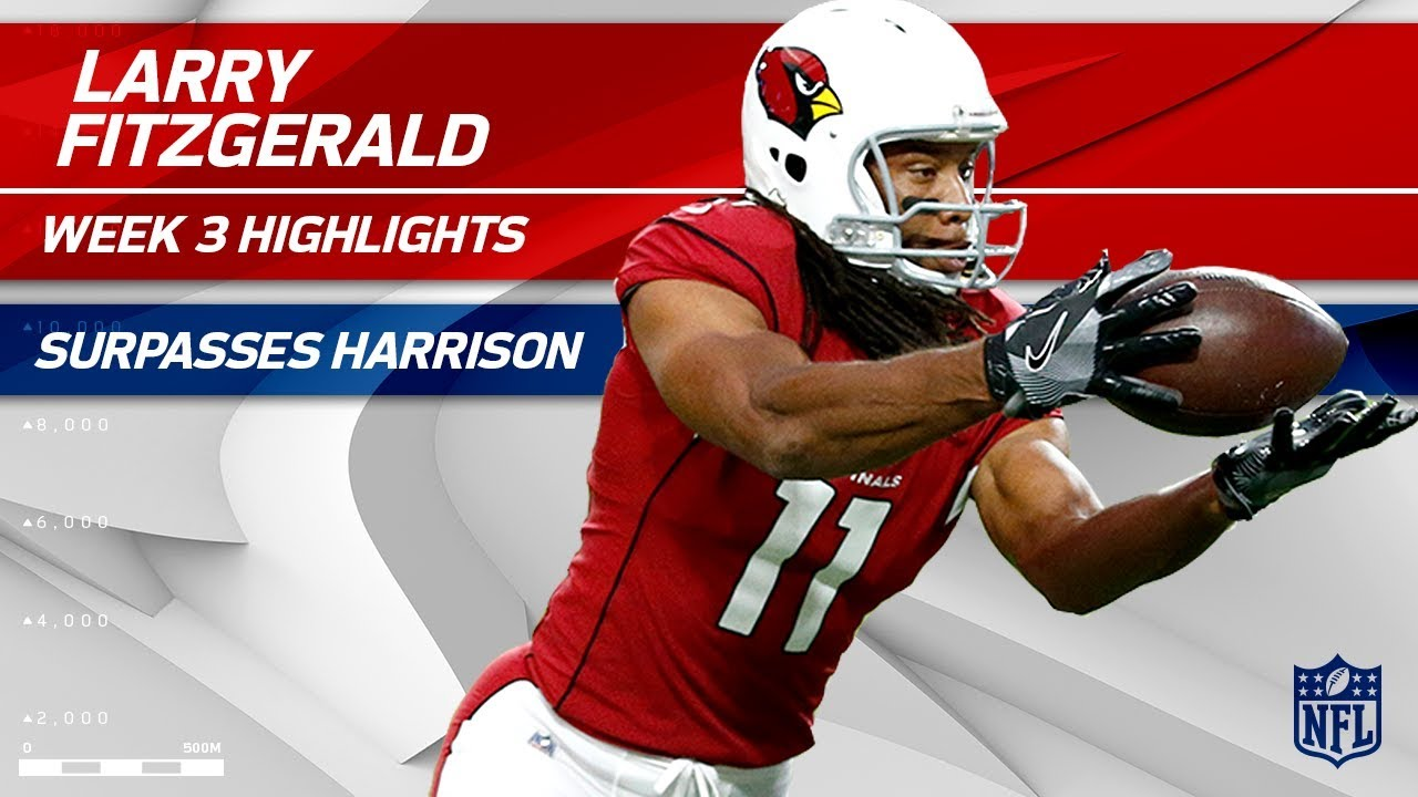 Larry Fitzgerald Makes Spectacular Plays & Climbs the NFL Record