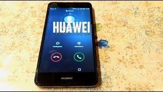 Huawei Y6 II incoming call