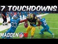 7 TOUCHDOWNS & 571 RUSHING YARDS! - Madden 18 Career Mode RB S4 Ep 55